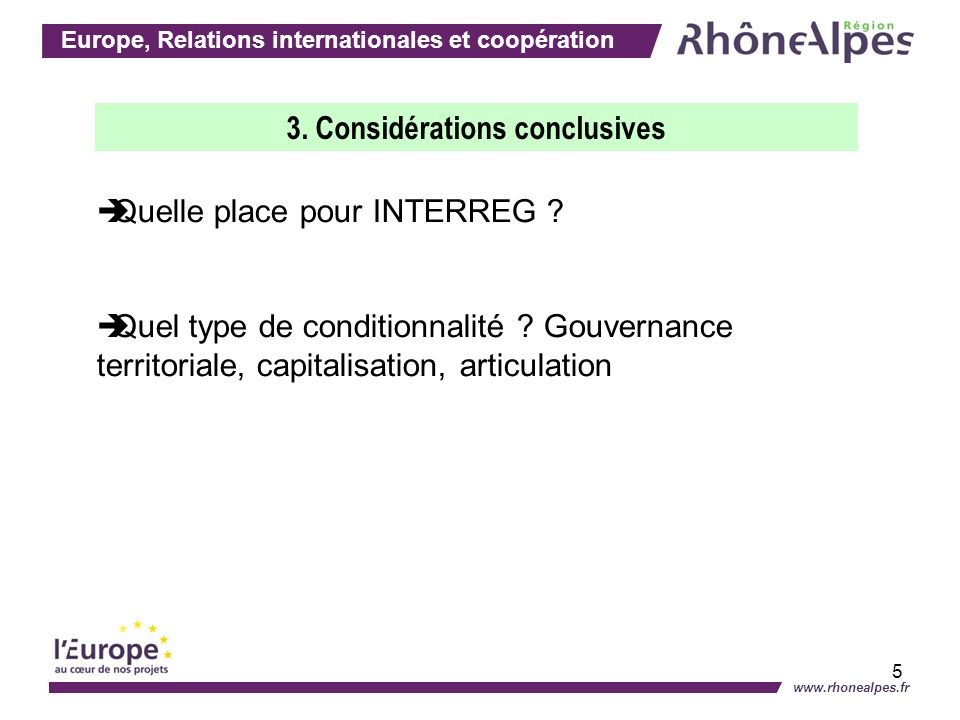 Europe, Relations internationales et coopération