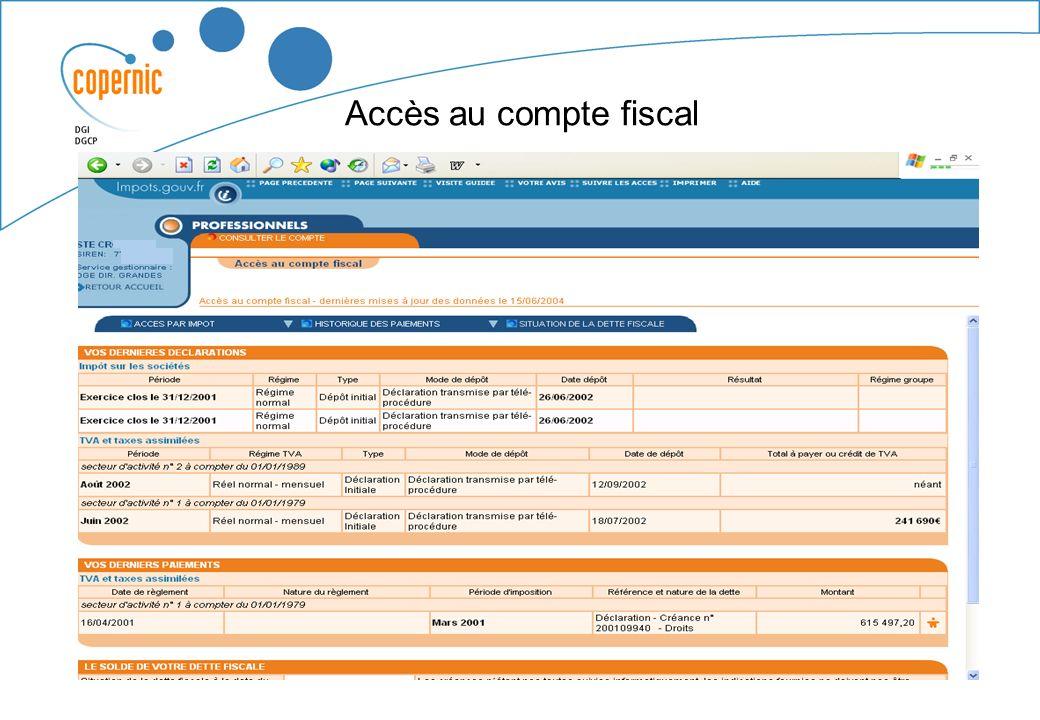 Un périmètre qui senrichit Mars 2005 - les créances et les paiements de TP pour les rôles mis en recouvrement à compter de 2004.