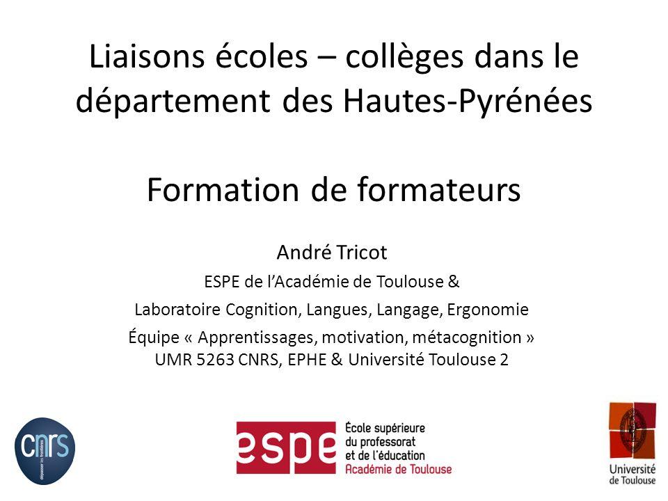 Un exemple : Français Lire un texte => Jétudie pour le comprendre le texte proposé.