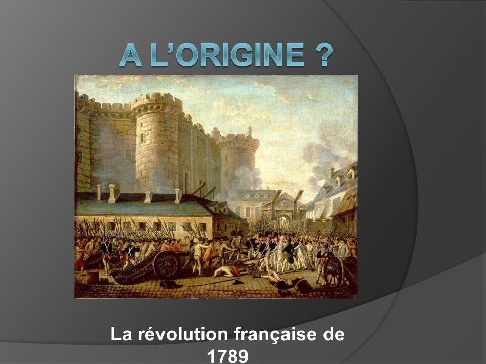 La révolution française de 1789