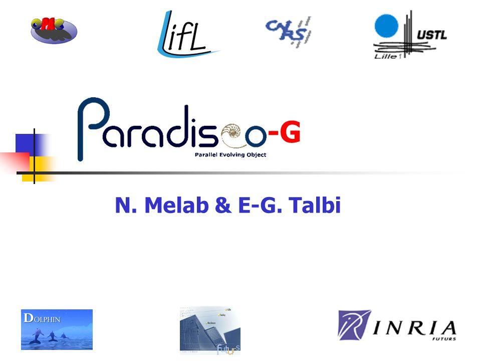 N. Melab & E-G. Talbi -G