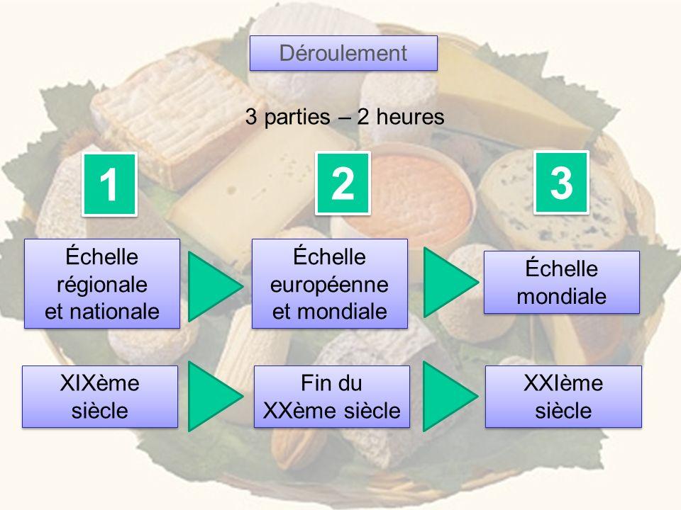 Comment les fromages français traditionnels (une spécificité culturelle) font-ils face aux exigences de la mondialisation .