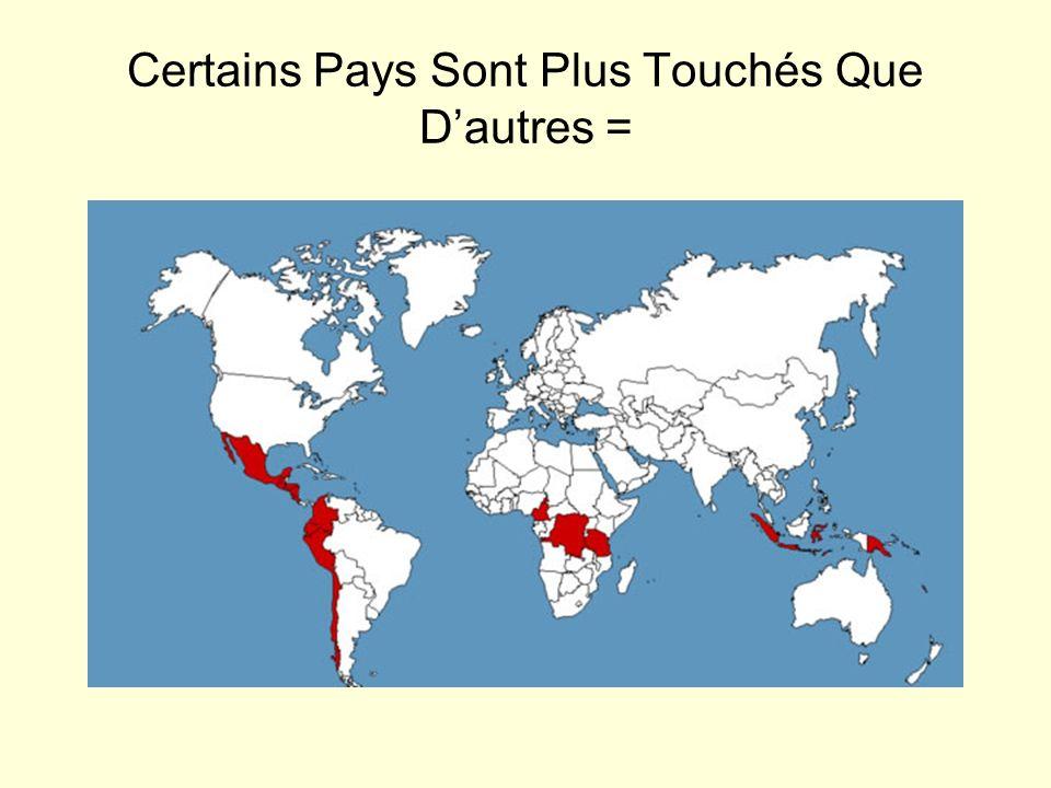 Certains Pays Sont Plus Touchés Que Dautres =