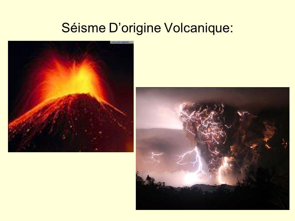 Séisme Dorigine Volcanique: