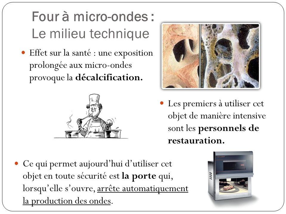 Four à micro-ondes : Différence entre invention et innovation Invention : objet nouveau créé par lhomme.