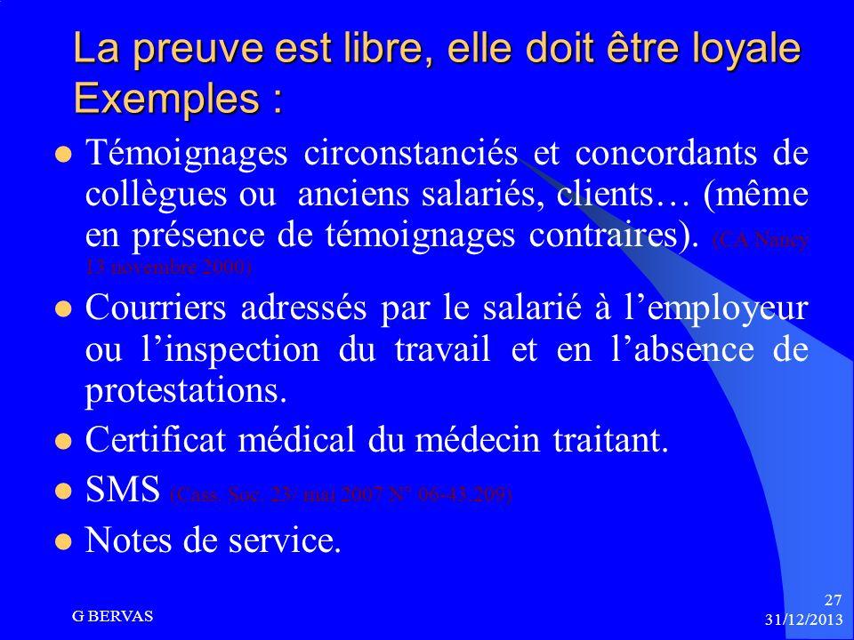Larticle L.1154-1 CT sur la charge de la preuve « le salarié victime établit des faits qui permettent de présumer lexistence dun harcèlement ». « le d