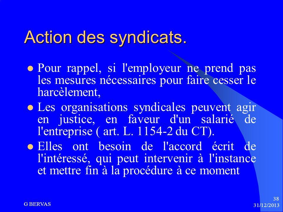 Les conséquences de la qualification de harcèlement moral pour lemployeur (suite) Possibilité de qualification des faits en accident du travail ou mal