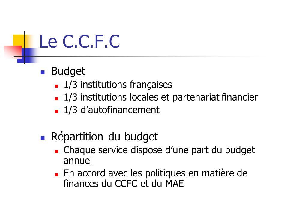 Difficultés et propositions de solutions Le budget Le statut de stagiaire Le public et la fréquentation du CCFC