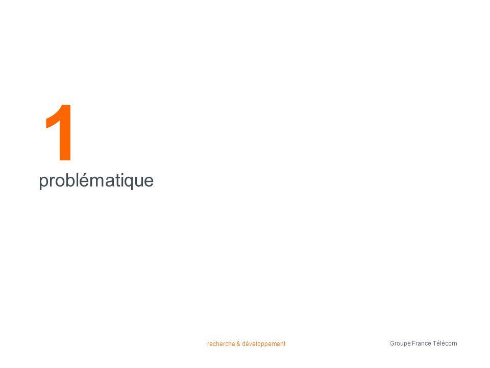 recherche & développement Groupe France Télécom données du système problématique contexte FTSem étude 1 étude 2 conclusions utilisateur questionnaire 3 listes de films profil utilisateur (explicite) 3 listes de films (ordonnées) 3 listes de films (ordonnées et appréciées) exemples aimes et n aimes pas pertinence des caractéristiques (explicite)