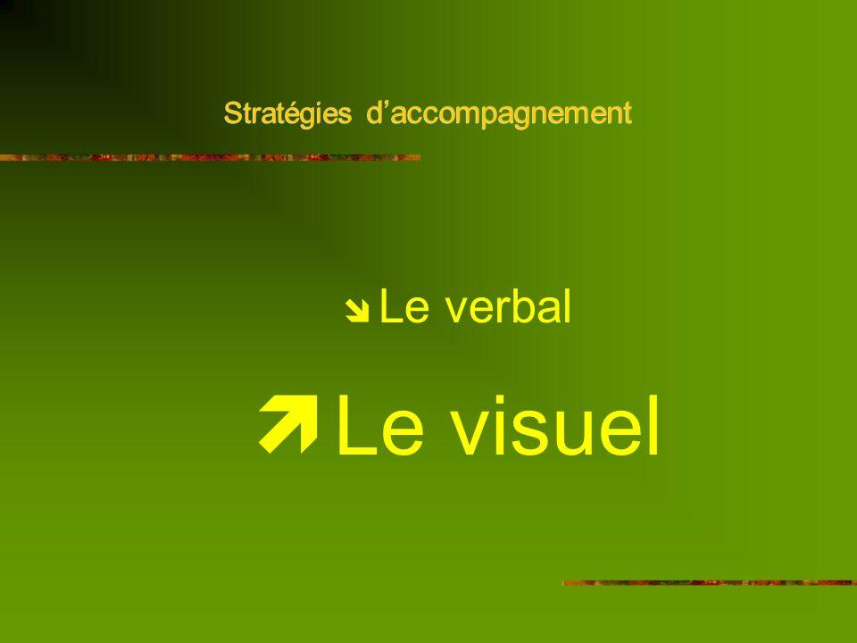 Stratégies daccompagnement Schéma de la communication Concision Clarté Précision Emetteur Récepteur ------------------------- Travail de sous-titrage