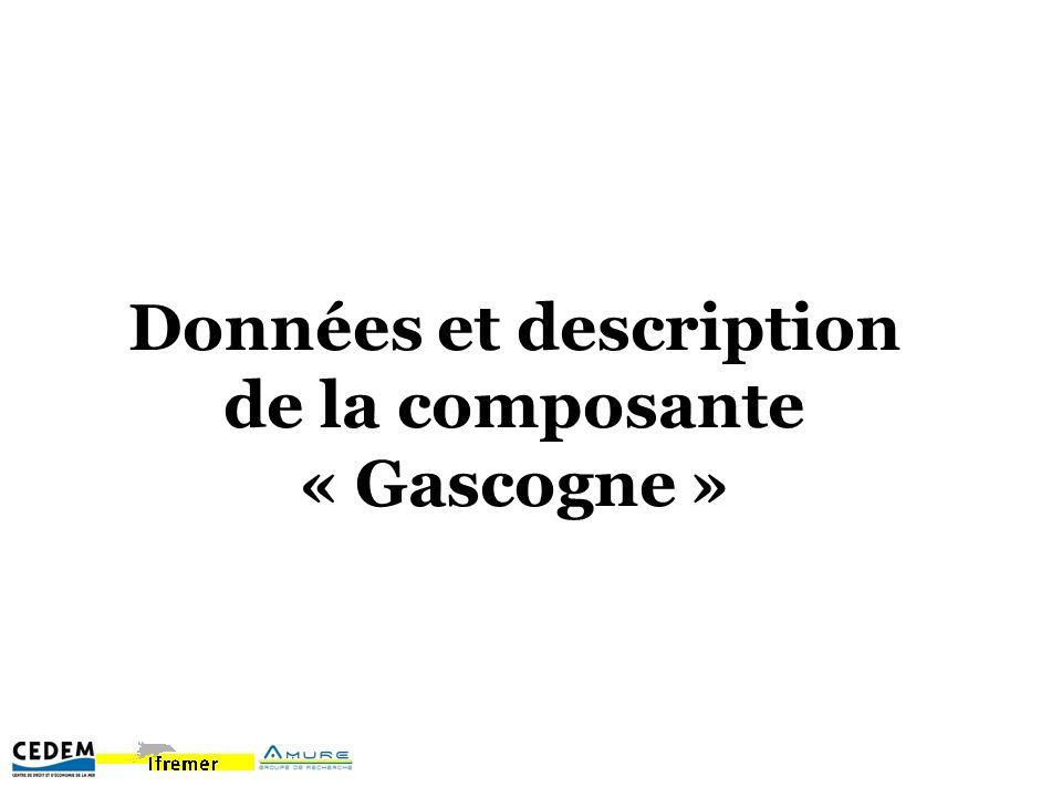 Données et description de la composante « Gascogne »