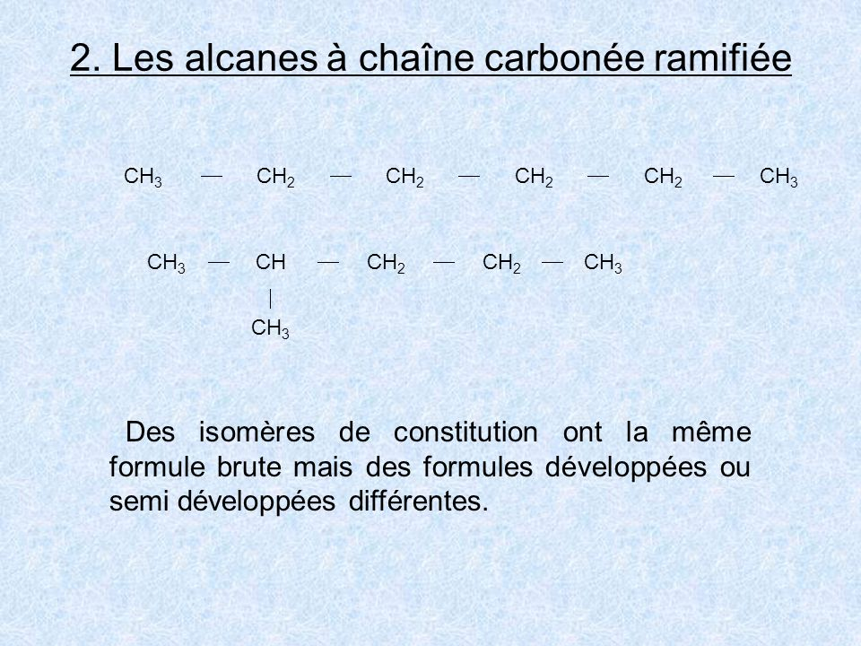 12345 54321 CH 3 CH CH 2 CH 2 CH 3 CH 3 2-méthylpentane