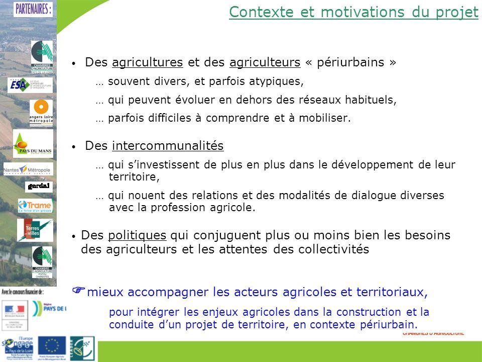 Des agricultures et des agriculteurs « périurbains » … souvent divers, et parfois atypiques, … qui peuvent évoluer en dehors des réseaux habituels, …
