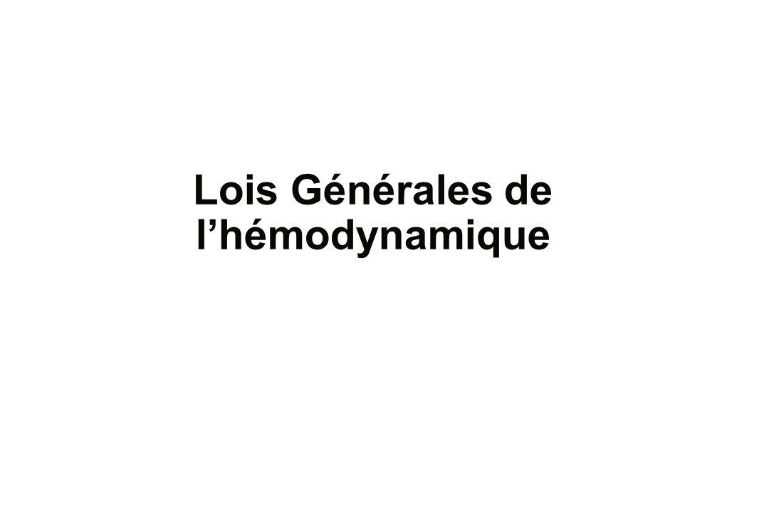 Lois Générales de lhémodynamique