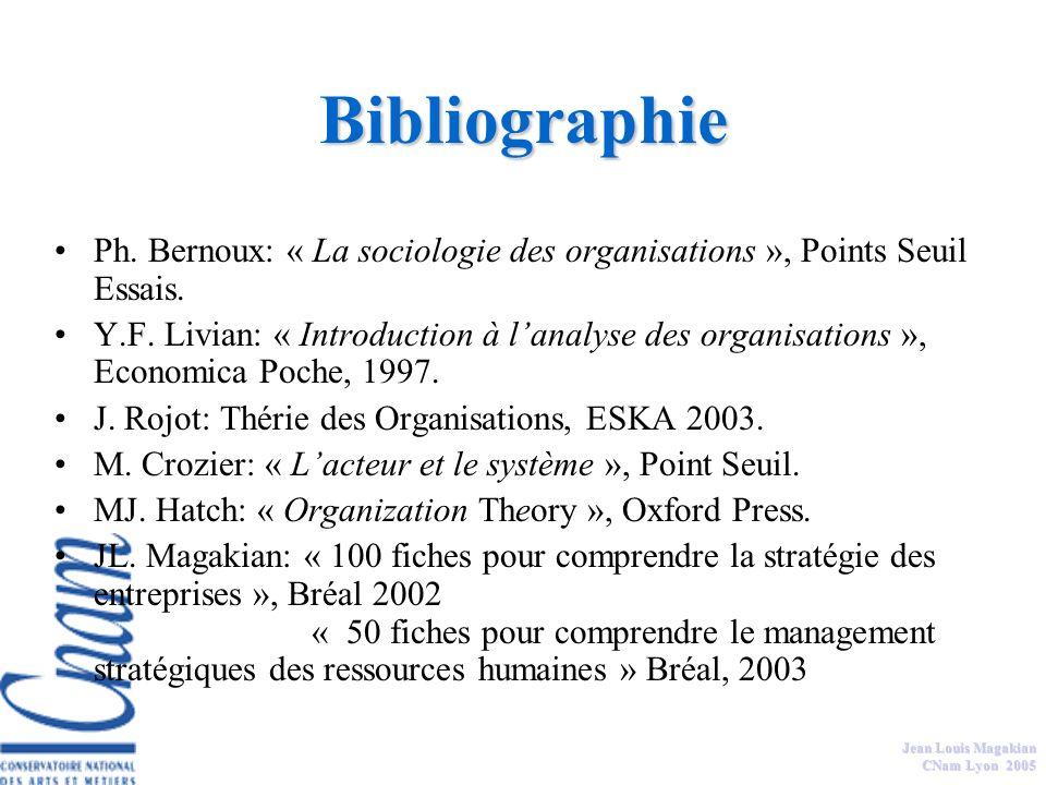 Jean Louis Magakian CNam Lyon 2005 Séquences du séminaire: Thème 1 = Les liens Stratégie/Culture/Organisation Thème 3 = Comprendre les cultures dentre