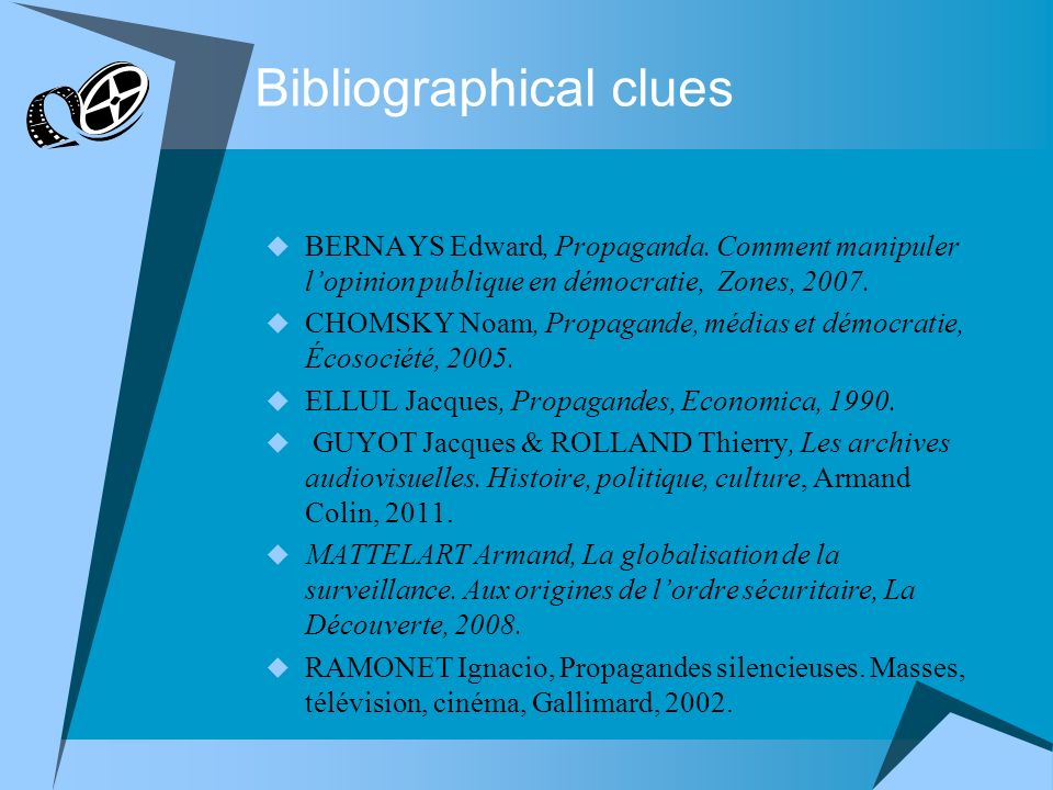 Bibliographical clues BERNAYS Edward, Propaganda.