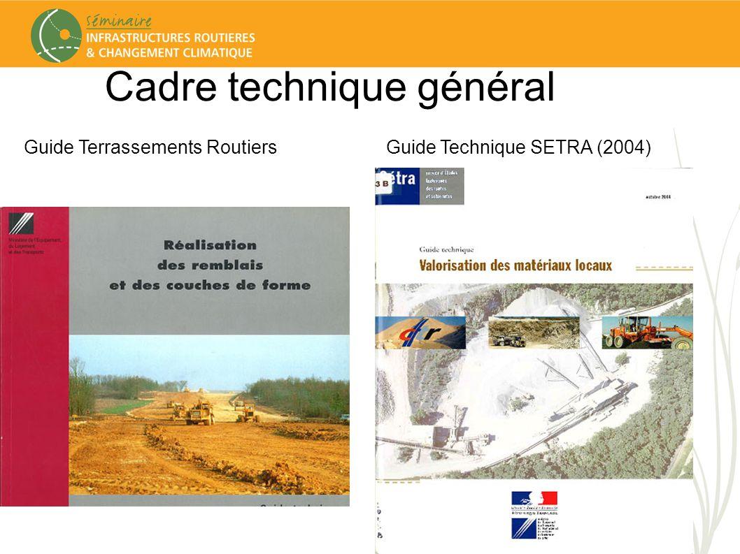 Cadre technique général Guide Régional MPGuide Régional IDF