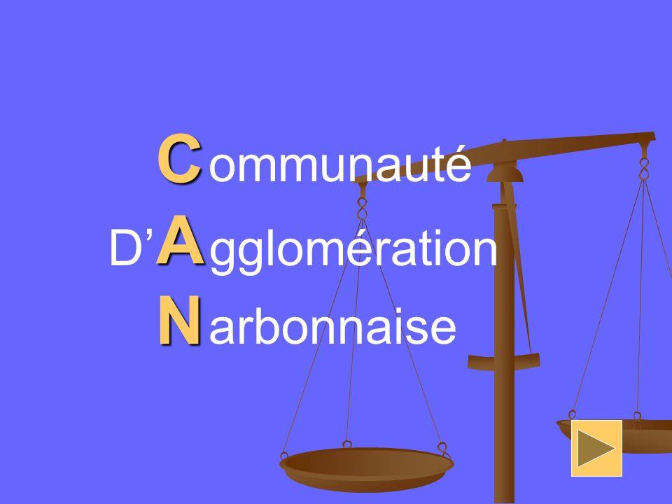 CANCANCANCAN ommunauté D gglomération arbonnaise