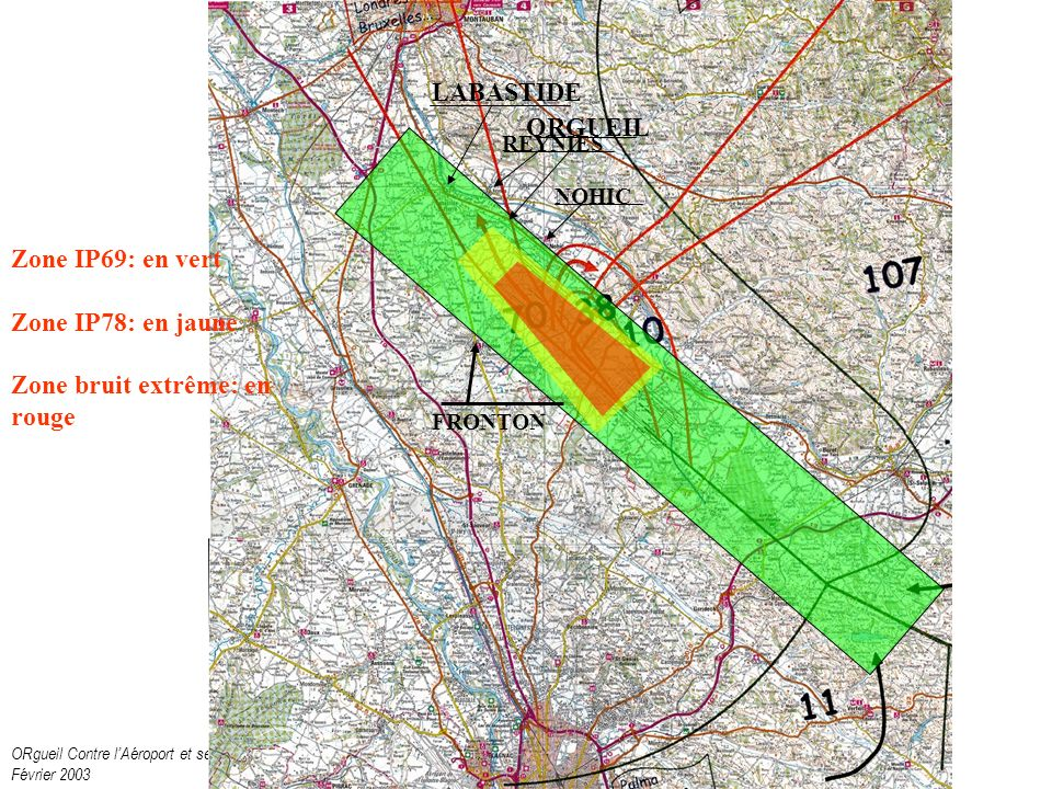 ORgueil Contre lAéroport et ses Nuisances Février 2003 Et si cest Vacquiers .