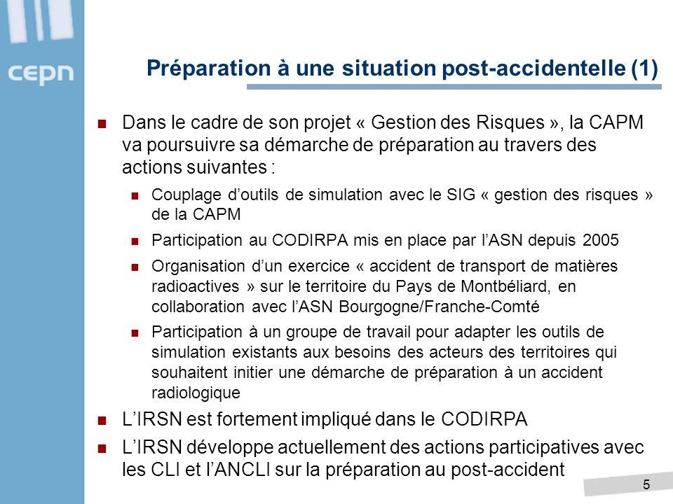 5 Dans le cadre de son projet « Gestion des Risques », la CAPM va poursuivre sa démarche de préparation au travers des actions suivantes : Couplage do