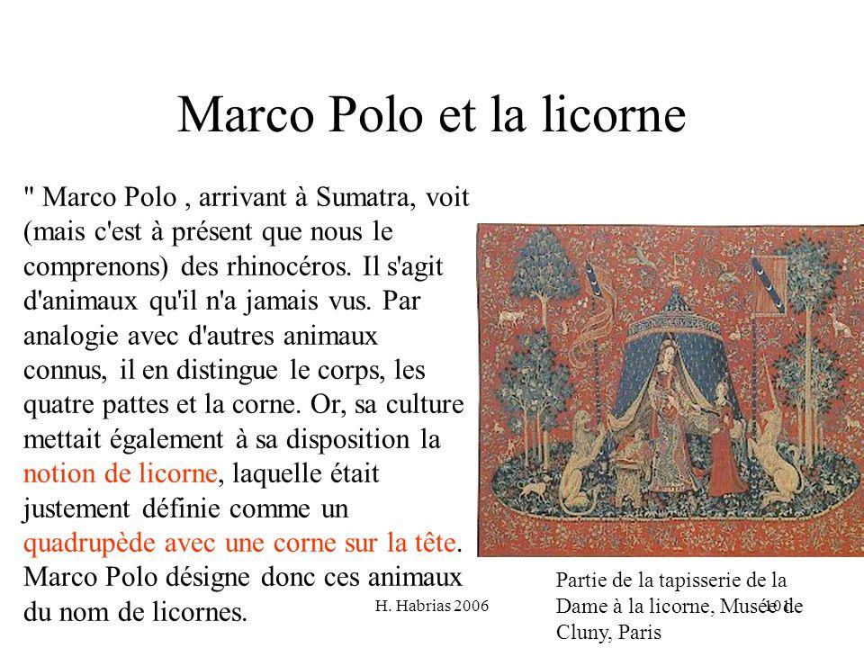H. Habrias 2006101 Marco Polo et la licorne