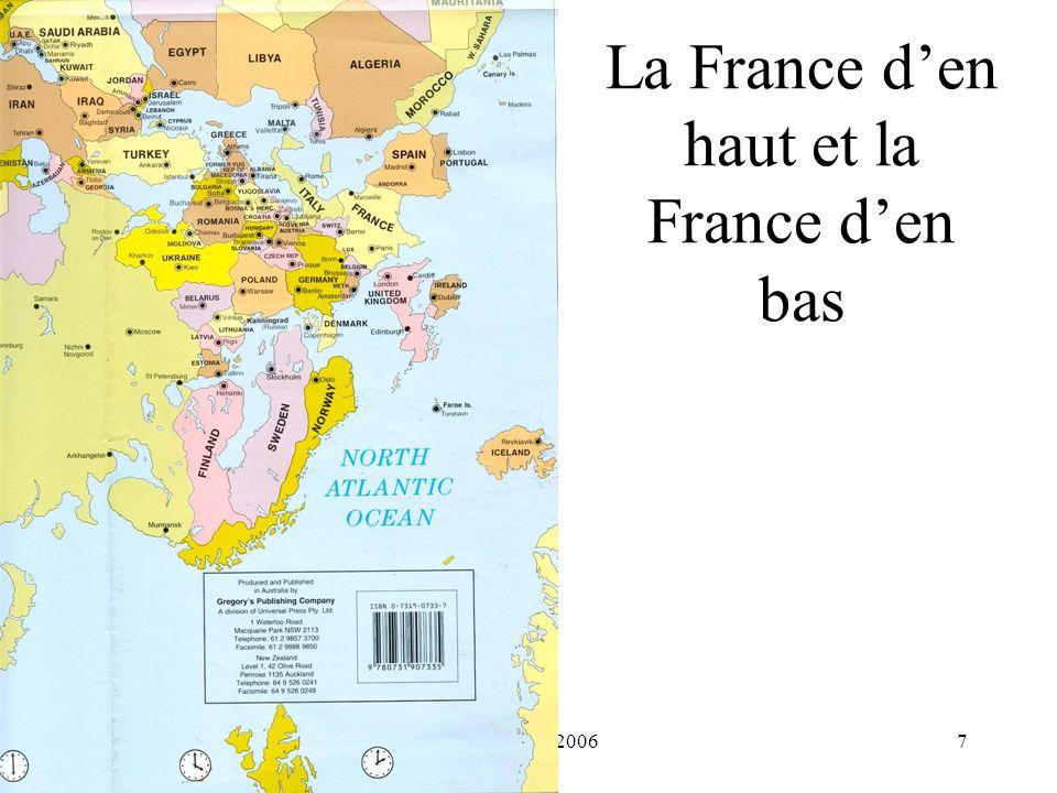 H. Habrias 20067 La France den haut et la France den bas