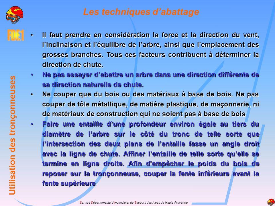 Service Départemental dIncendie et de Secours des Alpes de Haute Provence La position de travail Prendre la poignée à pleines mains. Le pouce toujours