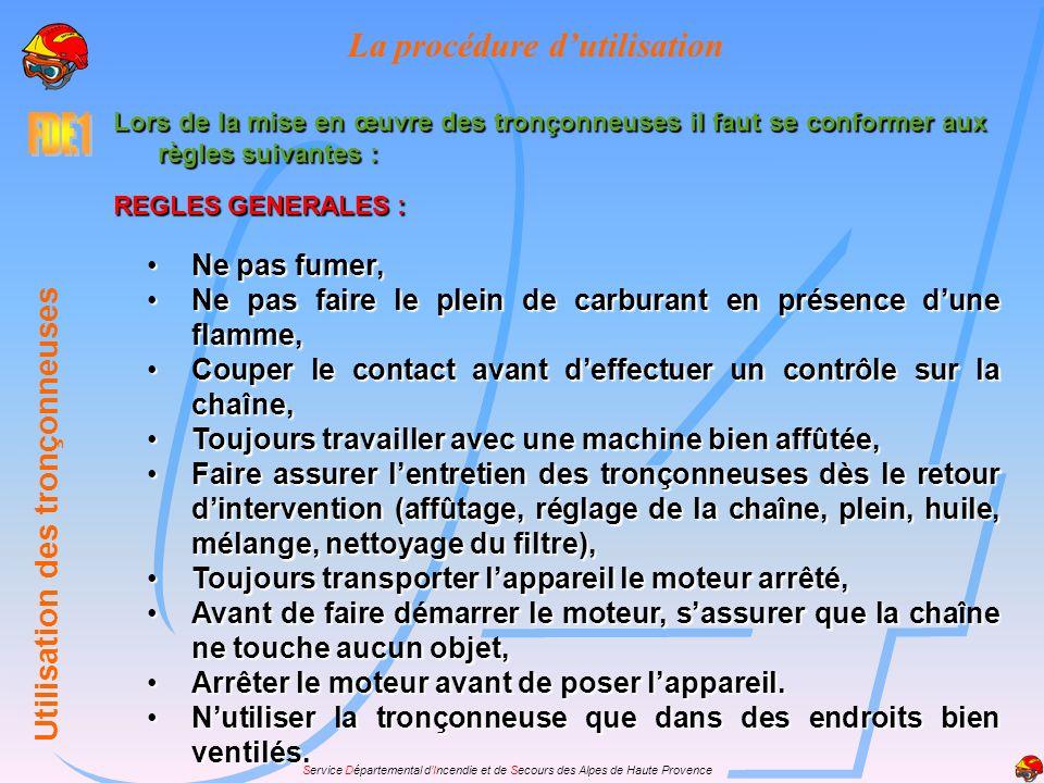 Service Départemental dIncendie et de Secours des Alpes de Haute Provence Présentation de la machine Tous ces facteurs imposent aux équipiers sapeurs-