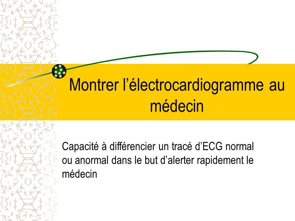 Débrancher les électrodes Attention à décoller les électrodes avec douceur (douleur, peau fragile)