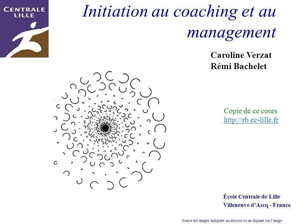 Initiation au coaching et au management Caroline Verzat Rémi Bachelet École Centrale de Lille Villeneuve dAscq - France Copie de ce cours http://rb.ec