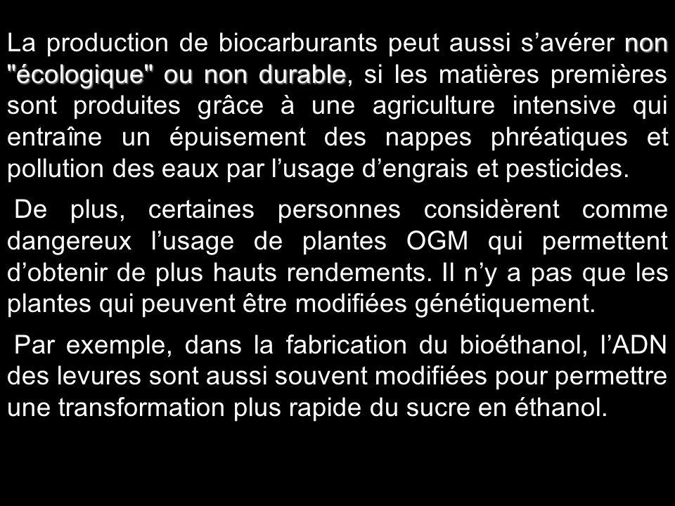 10 Le bilan est nul Le bilan est nul : les plantes absorbent du CO2 pour croître puis sont brûlées, elles libèrent alors du carbone qui sera à nouveau