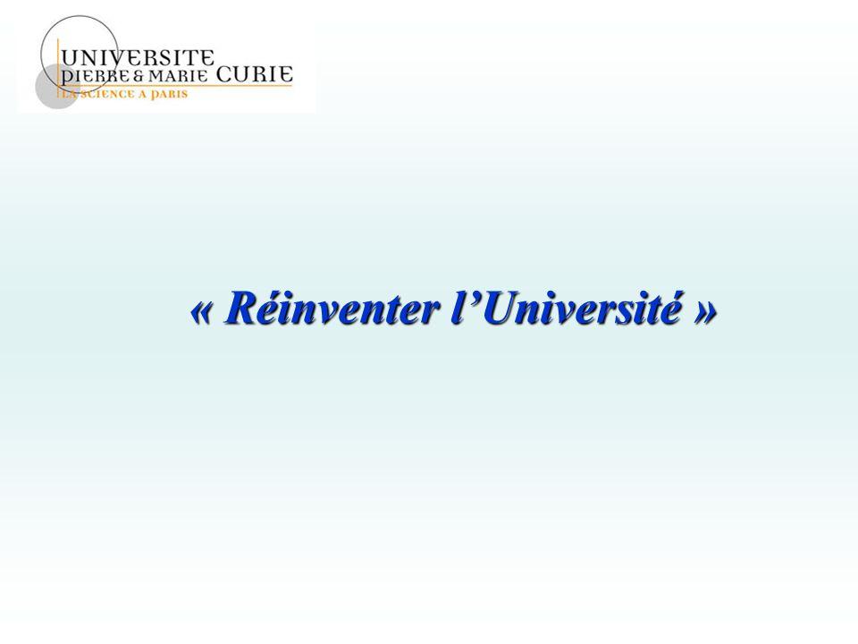 « Réinventer lUniversité »