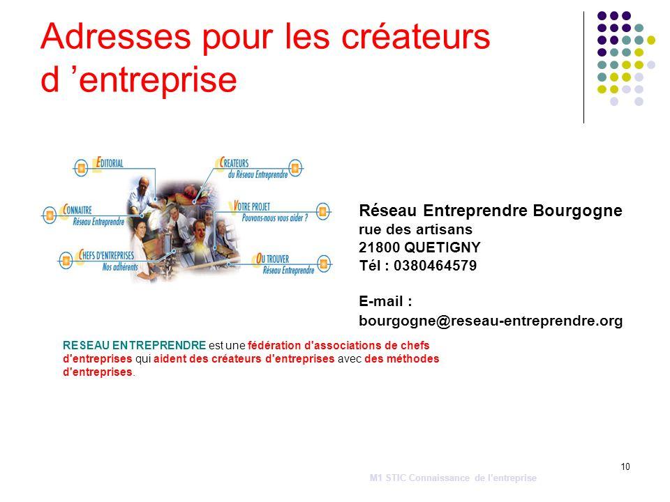 10 RESEAU ENTREPRENDRE est une fédération d'associations de chefs d'entreprises qui aident des créateurs d'entreprises avec des méthodes d'entreprises