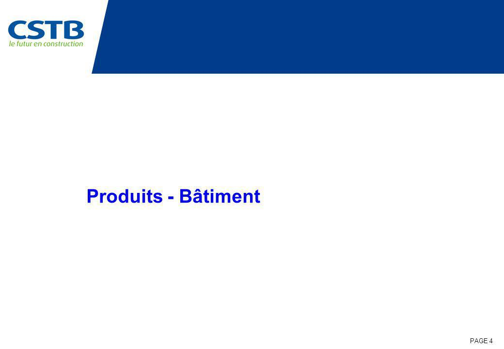PAGE 15 PREBAT NANOPU Partenaires: Objet: Polyuréthane nanostructuré super-isolant : étude de faisabilité pré-industrielle Fin détude: 12/2007 TOTAL 420 k - CPM 100 k Résultats: Synthétisation dun aérogel de Polyuréthane <23 mW/m.K