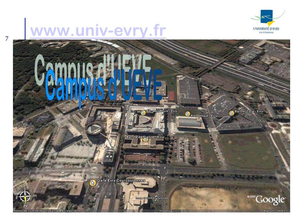 7 www.univ-evry.fr
