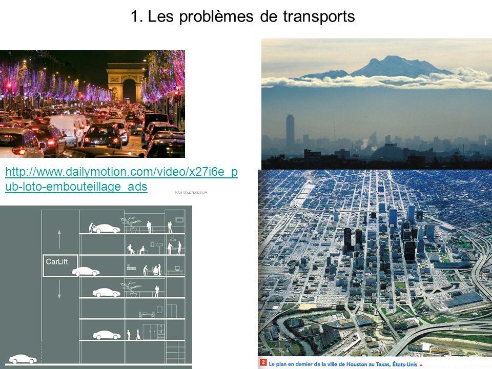 II) La ville est elle lendroit où ce concentre les problèmes? (2h) brainstorming