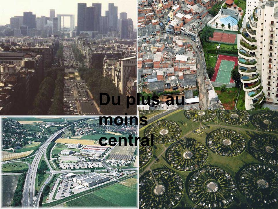 B. Localement : Létalement de la ville Photo ville 1950- 2000