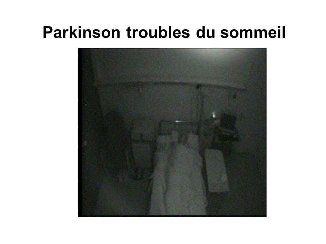 Parkinson troubles du sommeil