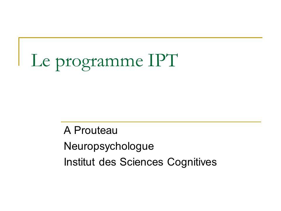 IPT : Quest ce que cest .