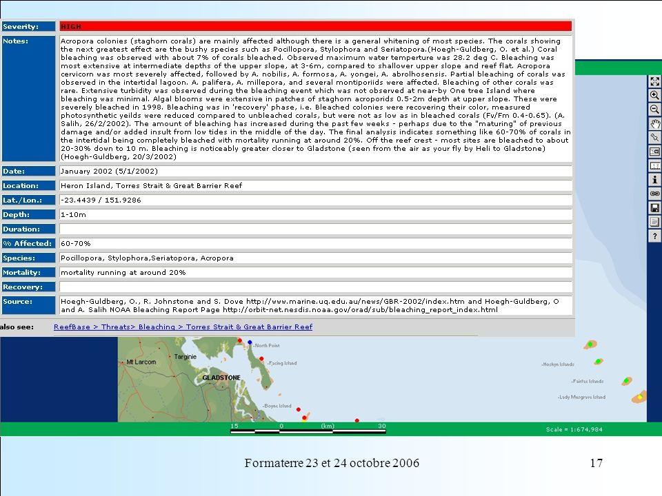 Formaterre 23 et 24 octobre 200617