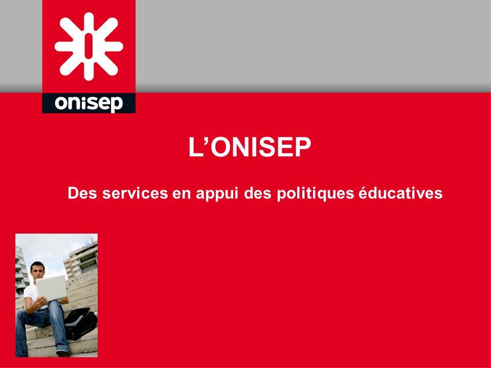 Des services en appui des politiques éducatives LONISEP