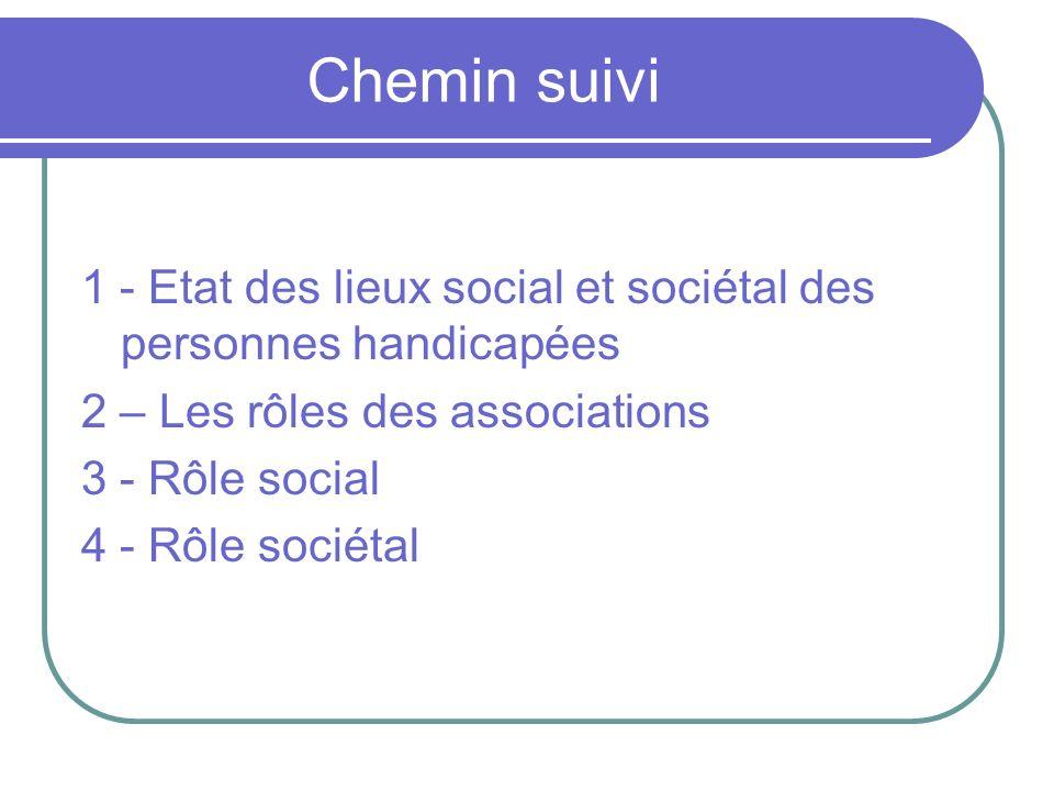 Etat des lieux social et sociétal des personnes handicapées DECLARATION DE MADRID 2003 1.