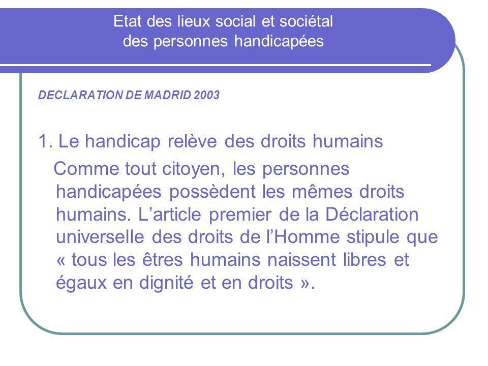 2.Les barrières sociales conduisent à la discrimination et à lexclusion 3.