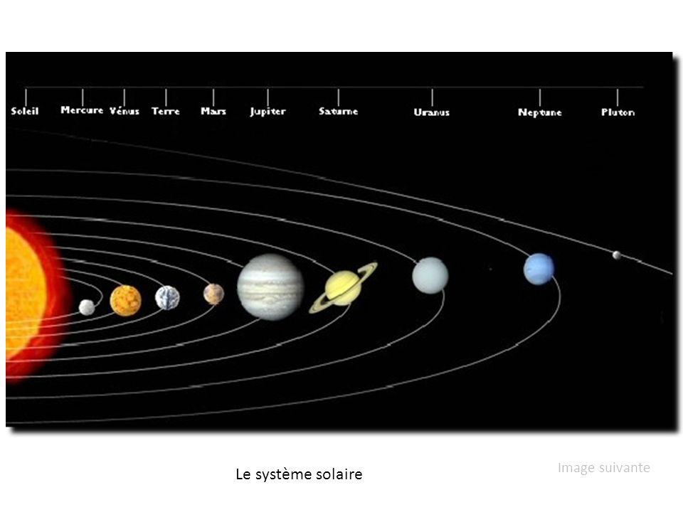 Le système solaire Image suivante