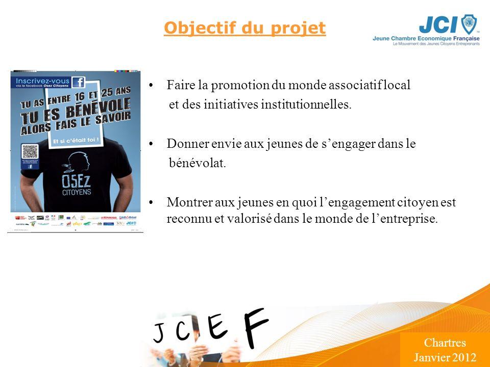 Conférence des Présidents Montargis 2009 Lieu – Date Objectif du projet Faire la promotion du monde associatif local et des initiatives institutionnel