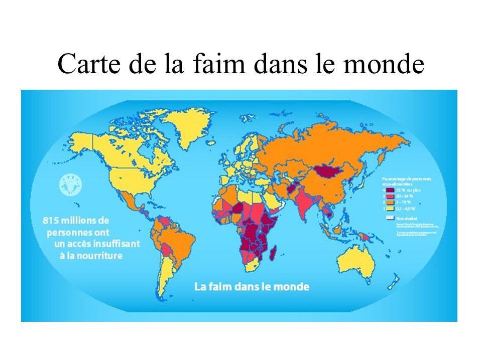 2.Les Organisations Humanitaires Internationales et locales Les distributions alimentaires durgence (famines, camps de réfugiés…).