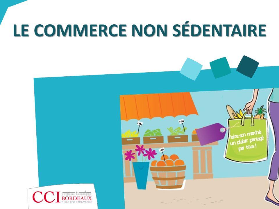 Les démarches à accomplir Inscription au Registre du Commerce et des Sociétés : les commerçants ambulants et les forains sont avant tout des commerçants.
