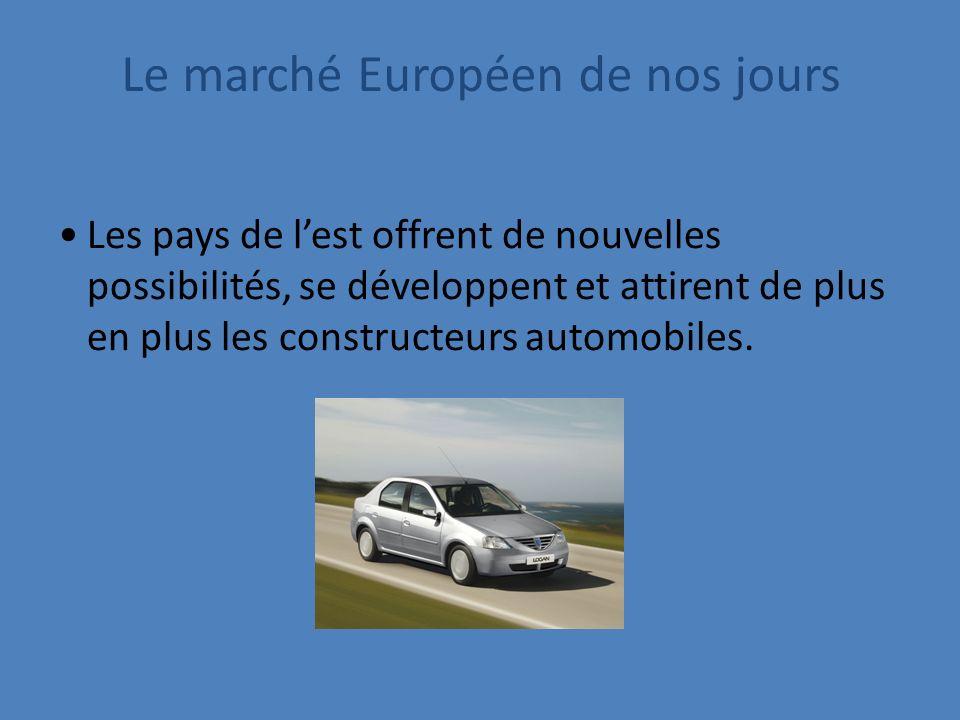 Les pays de lest offrent de nouvelles possibilités, se développent et attirent de plus en plus les constructeurs automobiles.