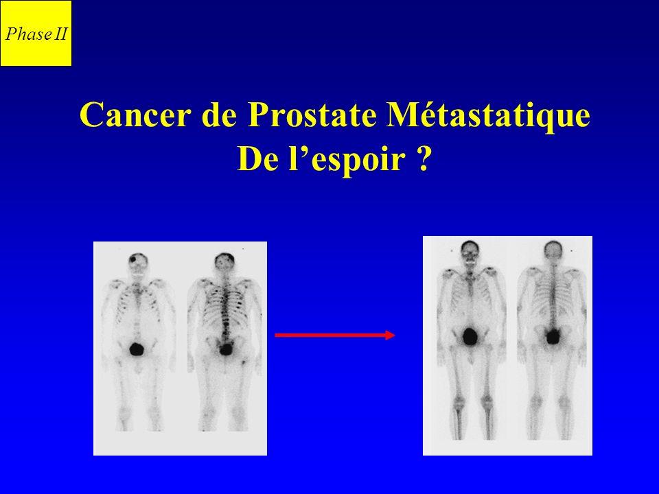 Cancer de Prostate Métastatique De lespoir ? Phase II