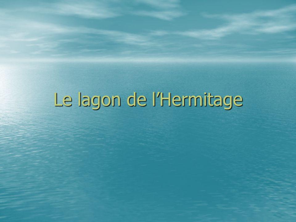 Le lagon de lHermitage